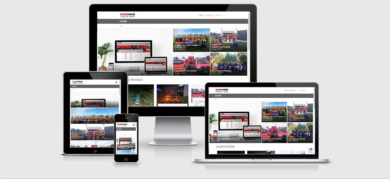 neue responsive Homepage